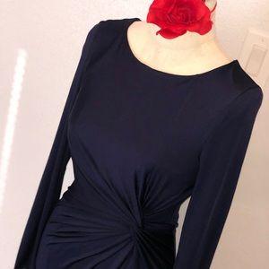 Windsor Navy Dress